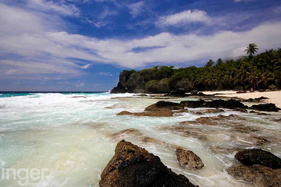 Dolly Beach, Christmas Island, Indian Ocean