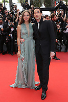 ADRIEN BRODY LARA LIETTO<br /> 70th Anniversary Event - The 70th Annual Cannes Film Festival at Palais des Festivals on May 23, 2017 in Cannes, France