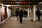 Study finds subway air contaminated with hazardous pollutants