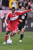 Chicago Fire defender Dasan Robinson (32)    Chicago Fire tied  DC United 1-1 at  RFK Stadium, Saturday March 28, 2009.