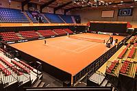 Den Bosch, The Netherlands, Februari 07 2019,  Maaspoort , FedCup  Netherlands - Canada, court<br /> Photo: Tennisimages/Henk Koster