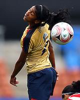 Lexi Harris (USA)..FIFA U17 Women's World Cup, Paraguay v USA, Waikato Stadium, Hamilton, New Zealand, Sunday 2 November 2008. Photo: Renee McKay/PHOTOSPORT