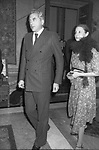 RAIMONDO ORSINI CON LA MOGLIE KETEVAN BAGRATION - THE BESTA PALAZZO PECCI BLUNT 1978