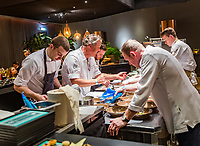 Rotterdam, The Netherlands, 14 Februari 2019, ABNAMRO World Tennis Tournament, Ahoy, Chef's table<br /> Photo: www.tennisimages.com/Henk Koster