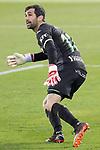 CD Leganes' Asier Riesgo during La Liga Second Division match. April 19, 2021. (ALTERPHOTOS/Acero)