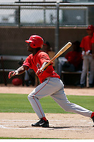 Eduardo Soto -  Los Angeles Angels - 2009 spring training.Photo by:  Bill Mitchell/Four Seam Images