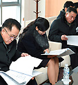 Hyon Song-Wol, head of a North Korean delegation, visits Gangneung Art Center