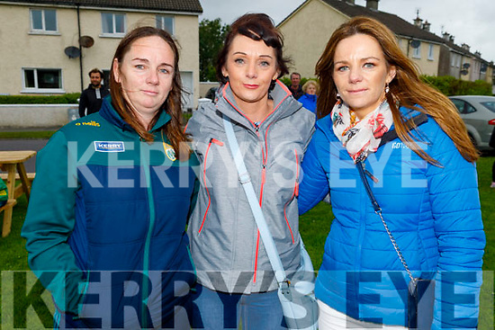 Mary, Geraldine and Caroline Smullen from Marion Park, Tralee attending the Comfort for Chemo balloon  ceremony in Casements Avenue, Ardfert on Sunday evening.