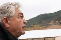 Patrick de Marien, president Embres et Castelmaure Cave Cooperative co-operative. Les Corbieres. Languedoc. France. Europe.