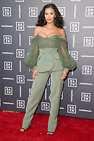 Maya Jama<br /> arrives for the Dazn x Matchroom VIP Launch Event at the German Gymnasium Kings Cross, London<br /> <br /> ©Ash Knotek  D3569  27/07/2021