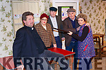 Rehearsals for 'Its The Real McCoy' are John Walsh, Lorraine Salmon, Danny O'Leary, Tim Dineen and Moira Hughes from Sliabh Luachra Drama Group which will opedn in Scartaglen Heritage Centre this weekend