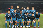 Players of Singapore Team line up and pose for a photo prior to their AFF Suzuki Cup 2008 Group A match between Indonesia and Singapore at Gelora Bung Karno Stadium on 09 December 2008, in Jakarta, Indonesia. Photo by Stringer / Lagardere Sports