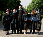 July 9, 2011; Alliance for Catholic Education graduates pose for photos after the 2011 ACE Commencement...Photo by Matt Cashore/University of Notre Dame