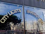 City Lights Bookstore, Columbus Street, San Francisco, California