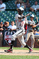 Deion Williams (23) during the 2010 Under Armour All-American Game powered by Baseball Factory at Wrigley Field in Chicago, New York;  August 14, 2010.  Photo By Mike Janes/Four Seam Images