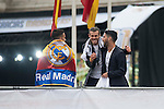 Gareth Bale and Isco during the celebration of the victory of the Real Madrid Champions League at Plaza de Cibeles in Madrid. May 28. 2016. (ALTERPHOTOS/Borja B.Hojas)