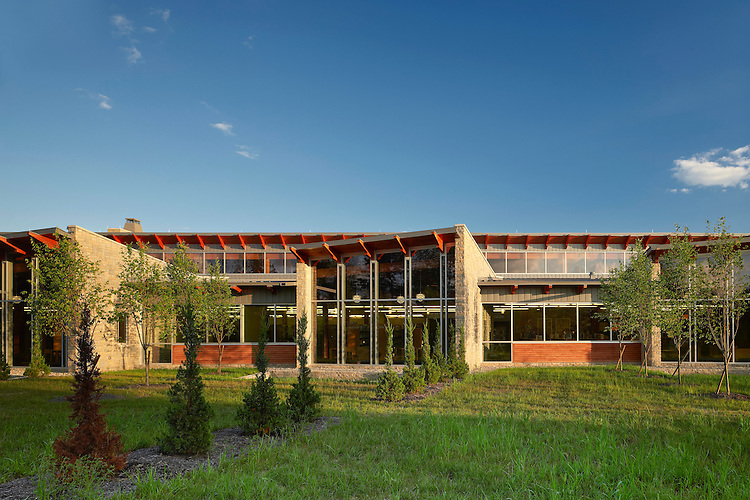 Delaware County District Library Orange Branch    Architects: MKC Architects