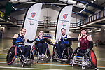 Lottery ParalympicsGB Wheelchair rugby team