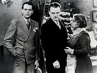 (L to R) Edward Woods,<br /> James Cagney,<br /> Beryl Mercer