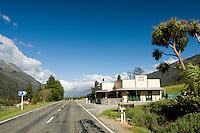 Jackson's Tavern near Otira on the road towards the Arthur's Pass. New Zealand