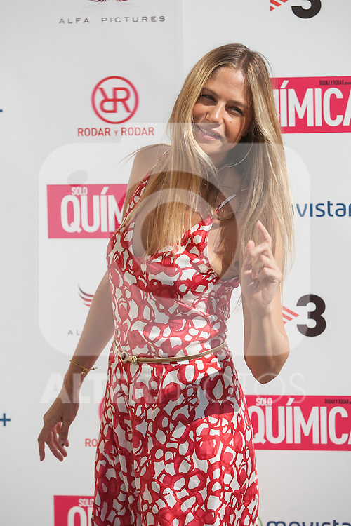 Martina Klein poses during the `Solo quimica´ film presentation in Madrid, Spain. July 14, 2015. (ALTERPHOTOS/Victor Blanco)