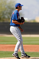 Richard Bleier - Texas Rangers - 2009 spring training.Photo by:  Bill Mitchell/Four Seam Images