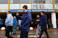 Exterior view of the stadium during the Premier League match between Huddersfield Town and Swansea City and at the John Smith's Stadium Huddersfield, England, UK. Saturday 10 March 2018