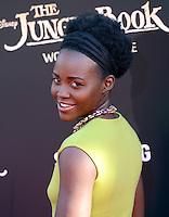 Lupita Nyong'o @ the premiere of 'The Jungle Book' held @ El Capitan theatre.<br /> April 4, 2016
