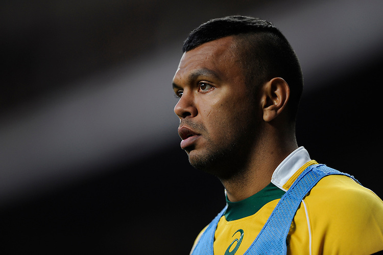 Kurtley Beale of Australia during the QBE International match between England and Australia at Twickenham Stadium on Saturday 29th November 2014 (Photo by Rob Munro)