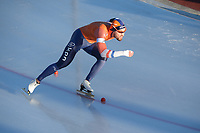 SPEED SKATING: COLLALBO: Arena Ritten, 11-01-2019, ISU European Speed Skating Championships, Kjeld Nuis (NED), ©photo Martin de Jong