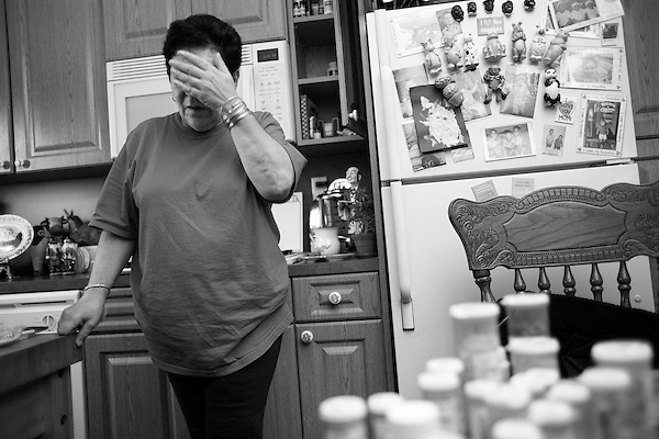 Friday, December 15th, 2006,  Howard Beach, New York.Fifty-nine-year-old Lorraine Kipper, who has been disabled and homebound since 2001 with degenerative spinal disease and severe depression, in her home in the Howard Beach section of Queens, New York.