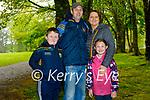Enjoying a stroll around Muckross House in Killarney on Sunday, l to r: Tom, Darragh, Maura and Megan Lyons from Ballymac.