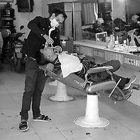 Battambang - Cambodia - June 2020<br /> - Barbershop