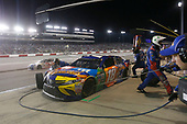 Monster Energy NASCAR Cup Series<br /> Federated Auto Parts 400<br /> Richmond Raceway, Richmond, VA USA<br /> Saturday 9 September 2017<br /> Kyle Busch, Joe Gibbs Racing, M&M's Caramel Toyota Camry pit stop<br /> World Copyright: Matthew T. Thacker<br /> LAT Images