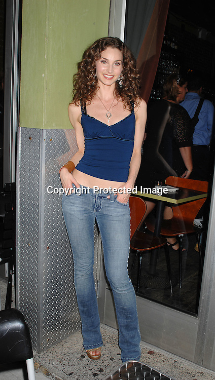 """Alicia Minshew ..arriving at The All My Children viewing party to watch co-star Cameron Mathison on """"Dancing with the Stars"""" on ..September 25, 2007 at Prohibition in New York City. ..Photo by Robin Platzer, Twin Images....212-935-0770"""