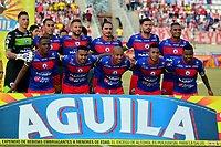BARRANQUILLA - COLOMBIA, 29-07-2018: Los jugadores de Depotivo Pasto posan para una foto, durante partido de la fecha 2 entre Atlético Junior y Deportivo Pasto por la Liga Aguila II 2018, jugado en el estadio Romelio Martínez de la ciudad de Barranquilla. /  The players of Depotivo Pasto pose for a photo, during a match of the of the 2nd date between Atletico Junior and Deportivo Pasto for the Liga Aguila II 2018 at the Romelio Martinez stadium in Barranquilla city, Photo: VizzorImage  / Alfonso Cervantes / Cont.