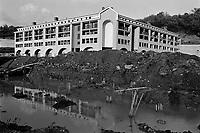 - reconstruction in Irpinia after the earthquake of 1980 in Laviano village....- ricostruzione in Irpinia dopo il terremoto del 1980 nel paese di Laviano