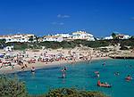ESP, Spanien, Balearen, Menorca, Cala en Bosc: Feriensiedlung am Cap d Artrutx | ESP, Spain, Balearic Islands, Menorca, Cala en Bosc: resort at Cape d Artrutx