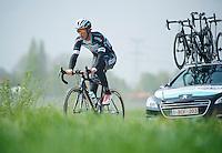 Iljo Keisse (BEL/OPQS)<br /> <br /> 2014 Paris-Roubaix reconnaissance