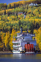 The Riverboat Discovery sternwheeler, Chena River, Fairbanks, Alaska.