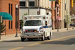 Ambulance in transit, Williamsport, PA