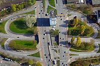 Verkehrskreuzung Rothenburgsort: EUROPA, DEUTSCHLAND, HAMBURG, (EUROPE, GERMANY), 09.04.2017: Verkehrskreuzung Rothenburgsort