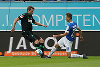 Matthias Bader (SV Darmstadt 98) gegen Sebastian Kerk (Hannover 96)<br /> <br /> - 28.08.2021 Fussball 2. Bundesliga, Saison 21/22, SV Darmstadt 98 vs Hannover 96, Stadion am Boellenfalltor, emonline, emspor, <br /> <br /> Foto: Marc Schueler/Sportpics.de<br /> Nur für journalistische Zwecke. Only for editorial use. (DFL/DFB REGULATIONS PROHIBIT ANY USE OF PHOTOGRAPHS as IMAGE SEQUENCES and/or QUASI-VIDEO)