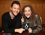 Matthew Hydzik and Micaela Diamond during 'The Cher Show' Original Broadway Cast Recording performance and CD signing at Barnes & Noble Upper East Side on May 14, 2019 in New York City.