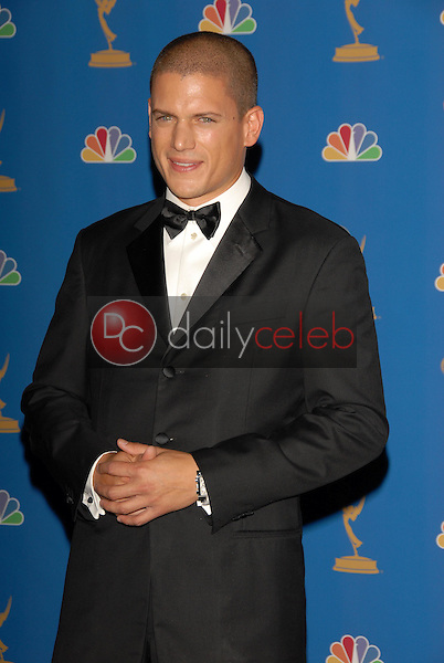 Wentworth Miller<br />in the Press Room at the 58th Annual Primetime Emmy Awards. The Shrine Auditorium, Los Angeles, CA. 08-27-06<br />Scott Kirkland/DailyCeleb.com 818-249-4998