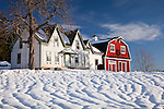 Farmhouse in Winter Harbor, ME, USA