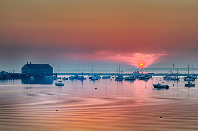 Sunrise at Fisherman's Wharf