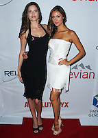SANTA MONICA, CA, USA - JUNE 11: Melissa Haro, Katie Cleary at the Pathway To The Cures For Breast Cancer: A Fundraiser Benefiting Susan G. Komen held at the Barker Hangar on June 11, 2014 in Santa Monica, California, United States. (Photo by Xavier Collin/Celebrity Monitor)