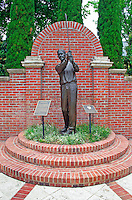 The Georgia Golf Hall of Fame's Botanical Garden Lord Byron statue Augusta Georgia