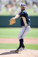 March 11,2009: Dave Bush (31) of the Milwaukee Brewers.  Photo by: Chris Proctor/Four Seam Images